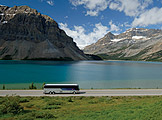 Relax and Enjoy the Canadian Rockies and Banff National Park via motorcoach tour.