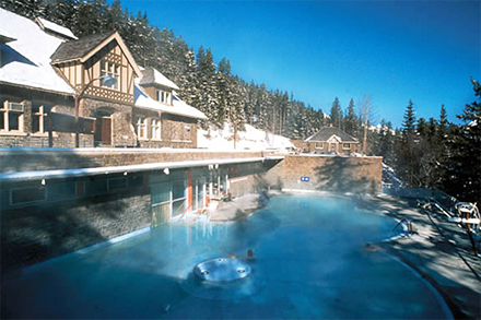 Relax: Banff Upper Hot Springs
