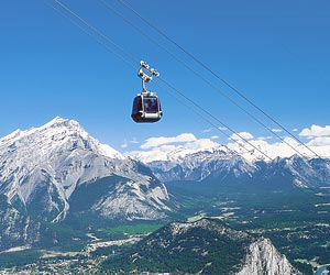 Banff, Lake Louise Gondolas