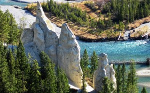 hoodoos 300x187 Banff Hoodoos and Hotsprings