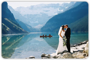 Lake Louise Wedding Photography by Peak Photography