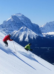 skilakelouise 218x300 Winter Activities in Banff