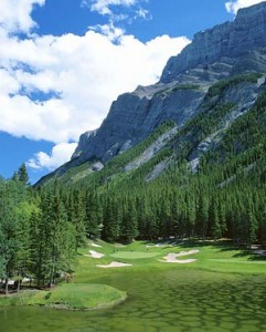 Banff Springs Golf Course 241x300 Golf Amidst Mountain Splendor in Banff National Park!