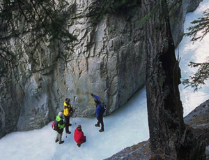 Banff National Park Ice Walks