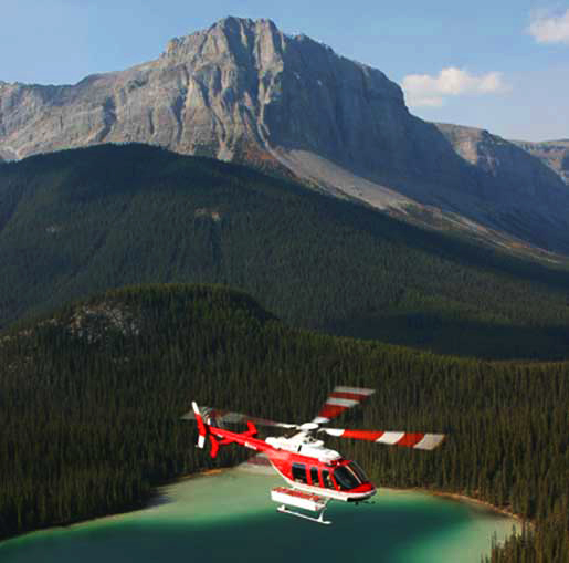 See The Canadian Rockies From The Air On A Helicopter Tour