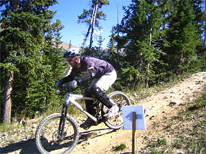 mountainbike Cycling Banff, Alberta