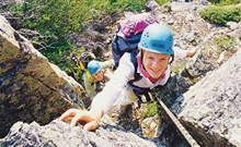 Rock Climbing in Banff